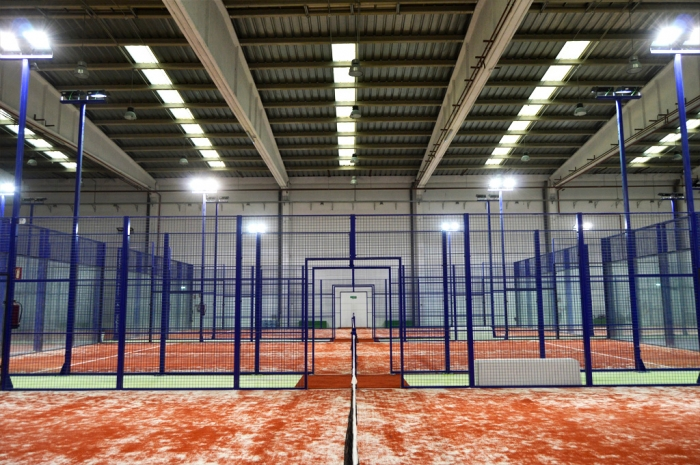 pistas de p del ballpadel indoor fitness center p del