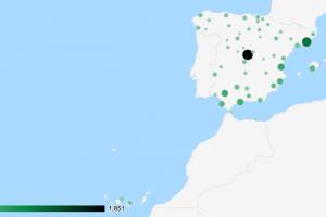 Pistas de pádel en España